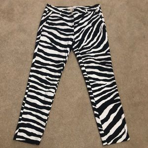 Michael Kohrs striped pants